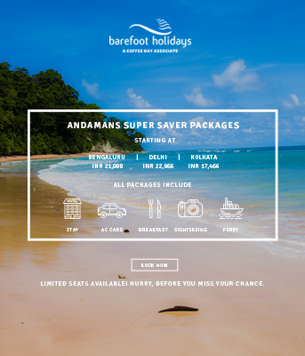 Small Image Barefoot Holidays Package Popup